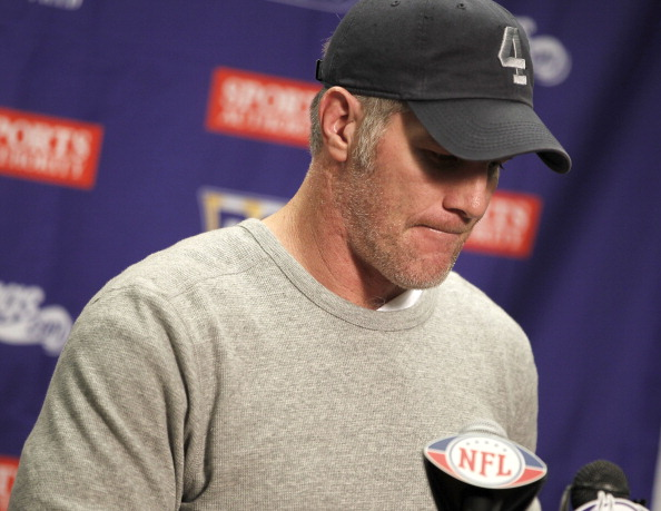 Brett Favre: That's Not Just Rust, It's Tarnish